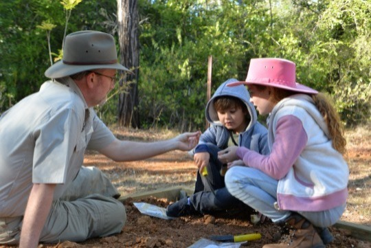 If you love fossils, then you'll love this school holiday tour tour! Get your hands dirty at a real fossil dig and visit a palaeontology dig-site in the caves!